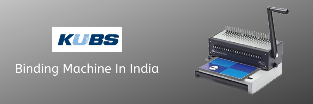 Binding Machine In India