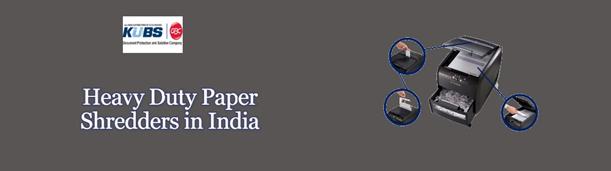 Heavy Duty Paper Shredders In India